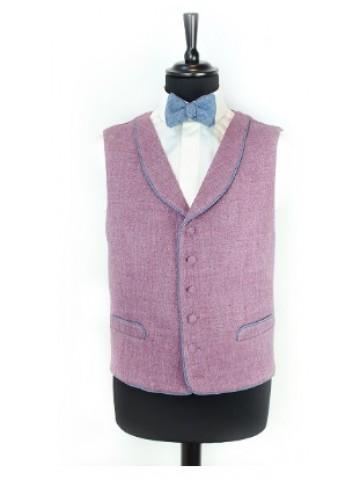 Purple waistcoat with decoration