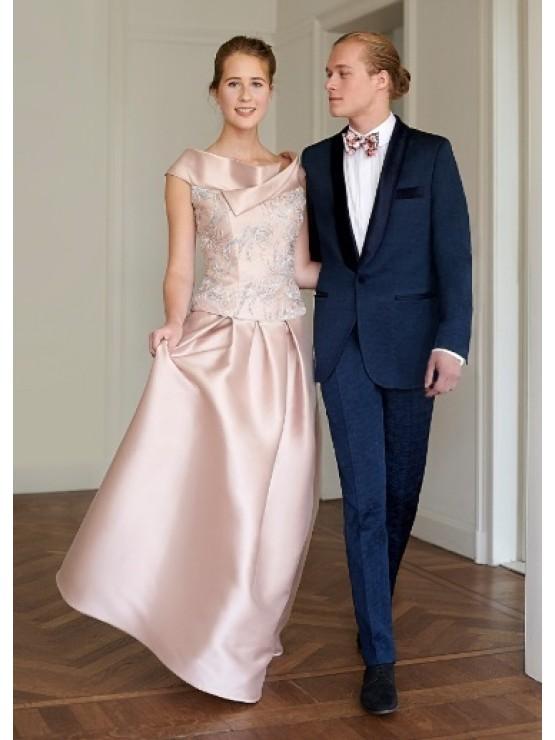 Wedding blue smoking suit