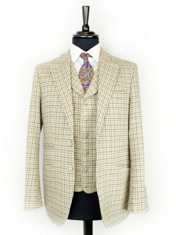 Brown checked jacket