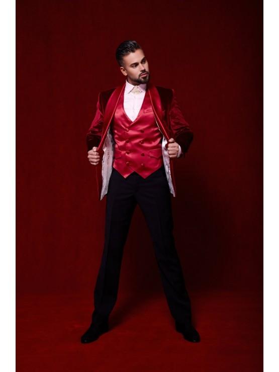 Red Ceremony Suit
