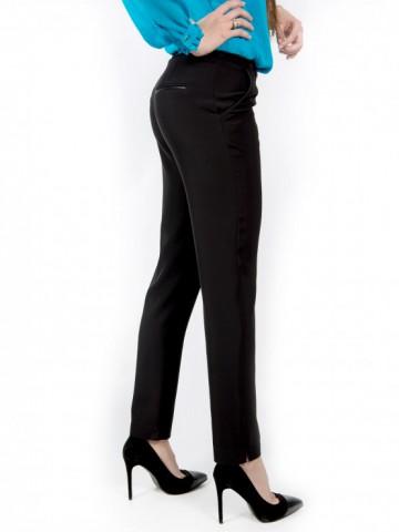 Womens black office trouser - Ester