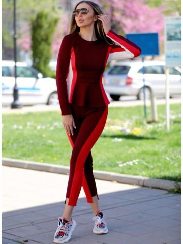 Sporty and elegant pants - Wave leggings